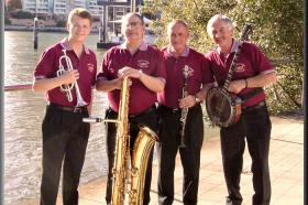 Geoff Power Classic Jazz Band with Jim Elliott,Jack Wiard & Paul Baker