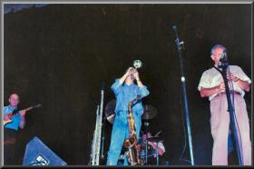 Geoff with Don Burrows & George Golla,Avalon(NSW)1996